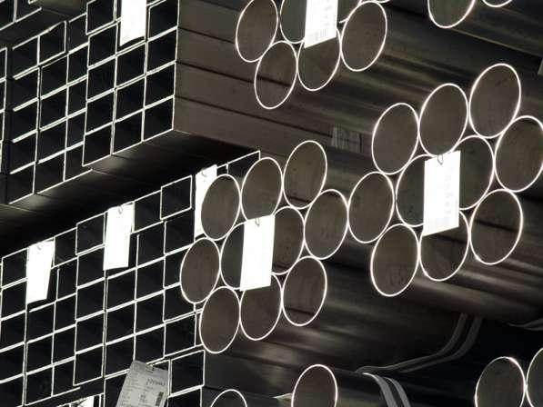 Трубы металлические профильные и круглые. Доставка