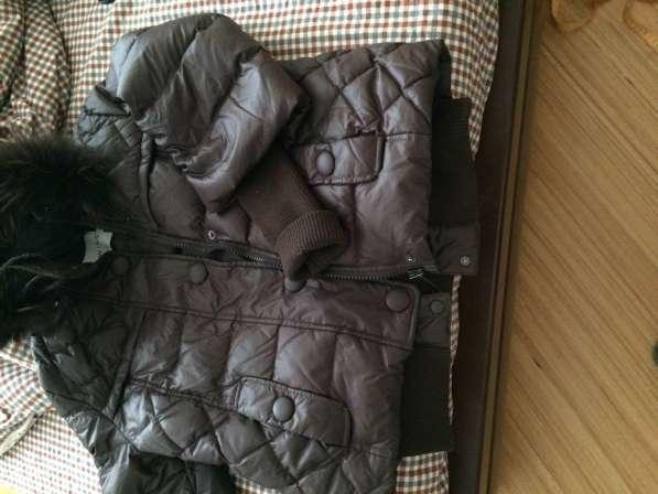 Куртка пуховик 44 размер