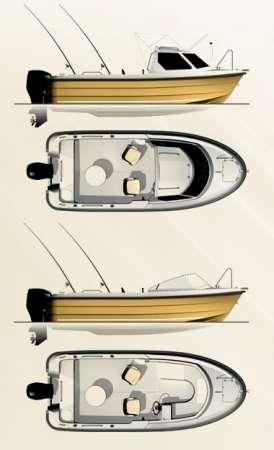 Продаем катер (лодку) Smartliner 19