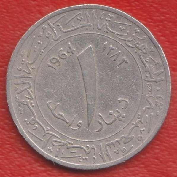 Алжир 1 динар 1964 г