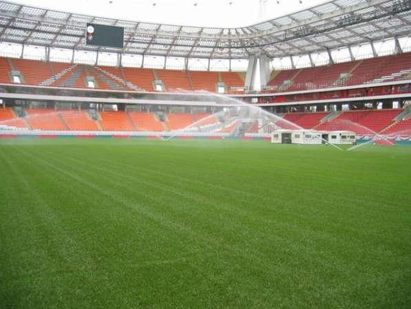 Травосмесь для быстрого восстановления футбольных полей в Ростове-на-Дону