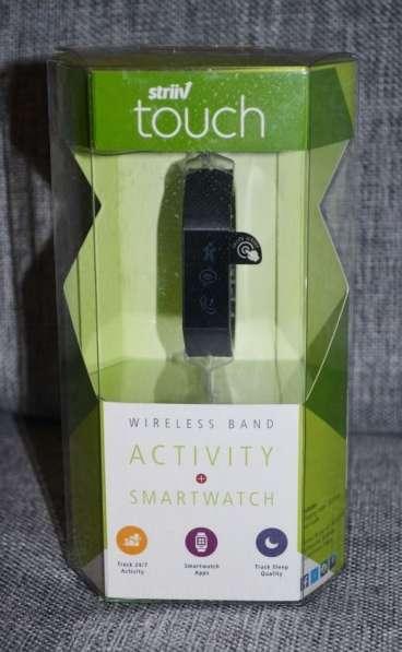 Фитнес-браслет STRIIV Touch Black (STRV01-004-OA)