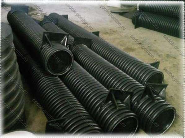Трубные понтоны 315 длиной от 1 до 6 метров с крепежом в Санкт-Петербурге