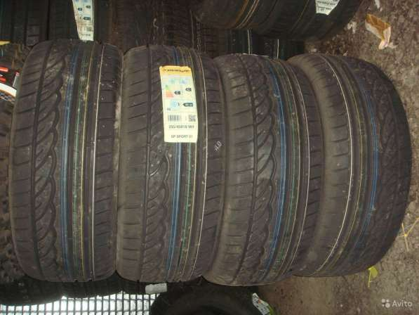 Новые 275/35ZR18 Sport 01 MO шины dunlop