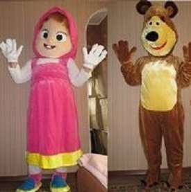 Ростовая кукла Маша и Медведь