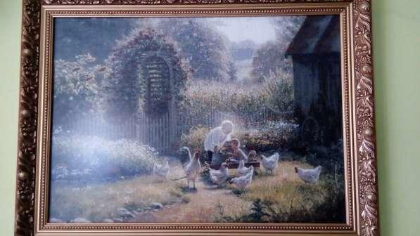Картины. Вышивка известных работ из коллекций музея. Дорого в фото 3