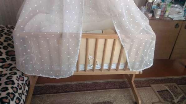 Продается детская кроватка-люлька в Калининграде фото 5