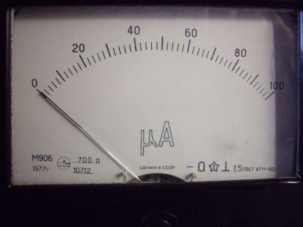 Микроамперметра М906 Новый в упаковке в Челябинске фото 4