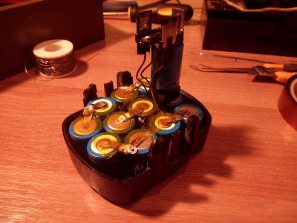 Ремонт аккумуляторов электроинструмента