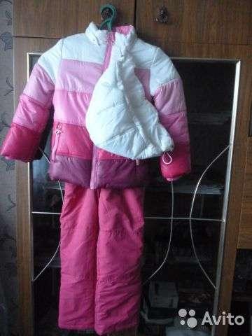 Зимнии детскии комбинизон