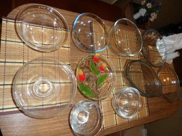 Замечательные посуда из белого фарфора+ стеклянная в Санкт-Петербурге фото 4