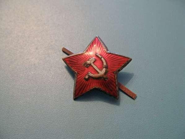Звезда на фуражку Ркка и Советской Армии (40-50-е годы)