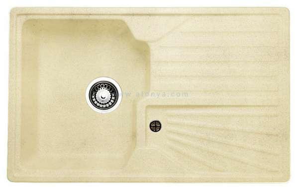Мойка (раковина) для кухни Granicom из литого мрамора