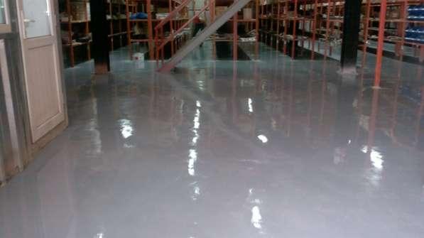 Наливные полимерные полы, профессиональные материалы для стр