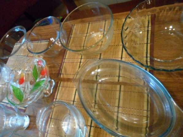 Замечательные посуда из белого фарфора+ стеклянная в Санкт-Петербурге фото 3