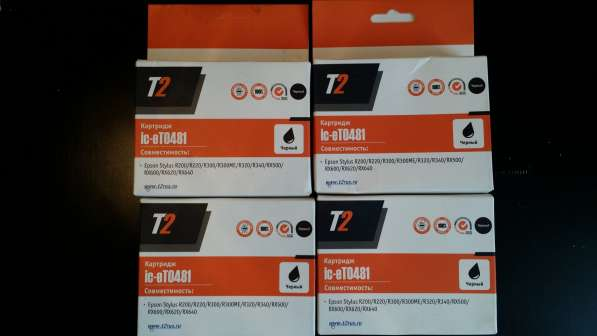 Картридж для Epson Stylus R200/300/300ME/320/340/RX500/600