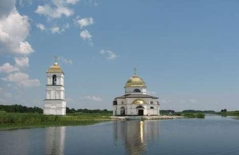 Затопленая церковь + Чучин