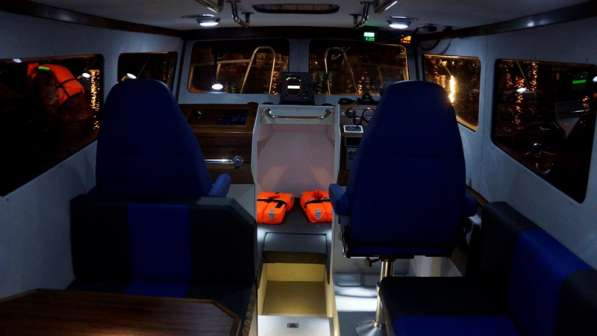 Новый морской катер Баренц 900 в Архангельске фото 10