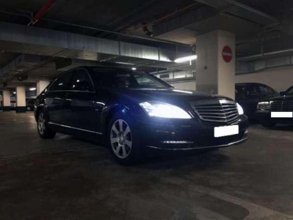 Услуги перевозки пассажиров на Mercedes-Benz S-class W221. Астана.