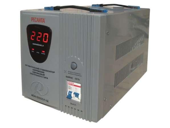 Стабилизатор Ресанта АСН-10000/1-Ц, 10 кВт, 220 В