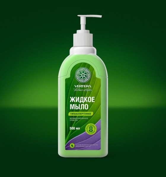 Биоразлагаемое жидкое мыло Vertera