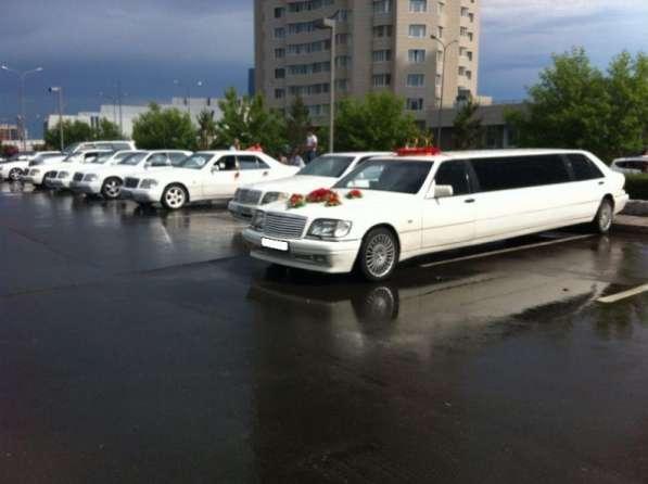 Лимузин Mercedes-Benz S-class W140 на выписку из роддома. Астана.