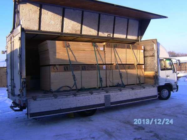 Пятитонные фургоны. Заказ в Новосибирске