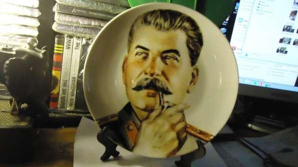 Продам тарелку с изображением Сталина и др