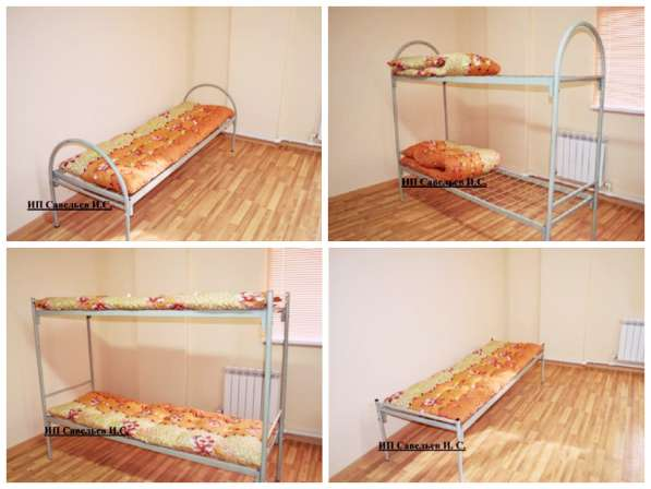 Железные армейские кровати, металлические одноярусные и 2х я