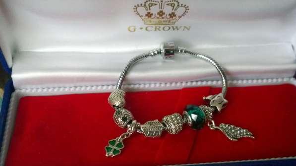Пандора Pandora браслеты с шармами замок принцессы