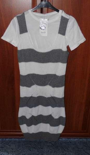 Комплект новый с этикетками (футболка + платье) р.44 OGGI