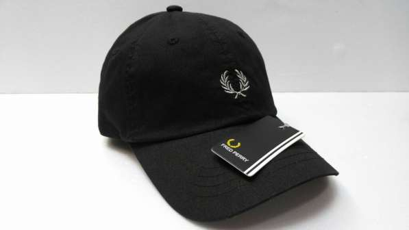 Fred Perry black бейсболка