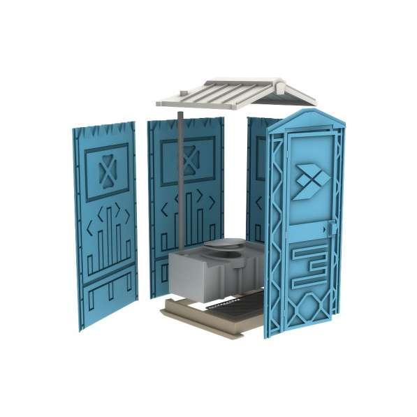 Новая туалетная кабина Ecostyle - экономьте деньги! Афины в