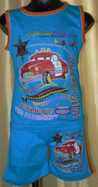 Комплекты детские новые (шорты+футболка)