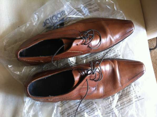 Ботинки натуральная кожа муж 42