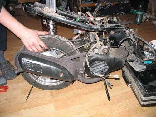 Ремонт скутеров с выездом к месту поломки