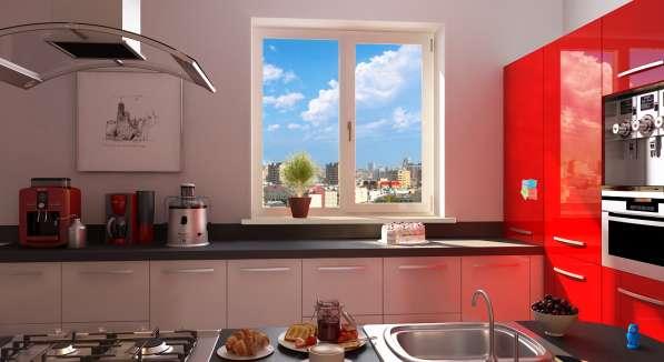 Кухонное окно -панельный дом