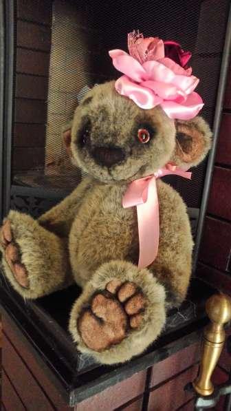 Медведь Игрушка интерьерный 38см плюшевый
