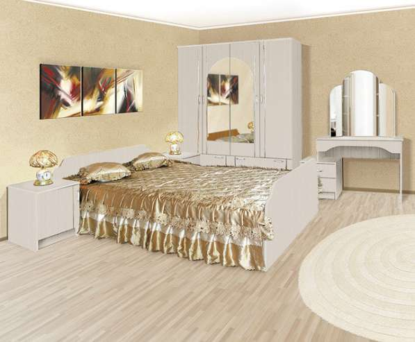Спальня «Ольга-1» 1600 (белая)
