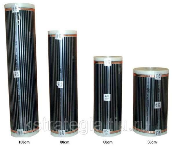 Инфракрасная пленка для теплого пола 0,5м*150м*0,275мм