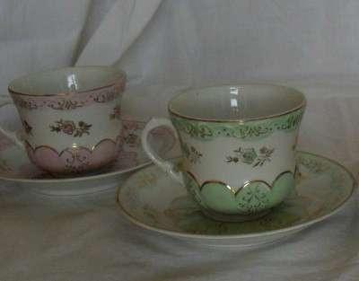 Чайные пары дулевские 1956