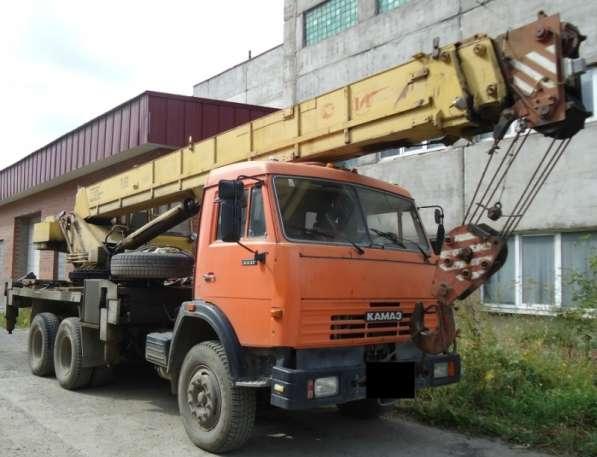 Продам автокран Ивановец 25 тн; КАМАЗ;2007г/в