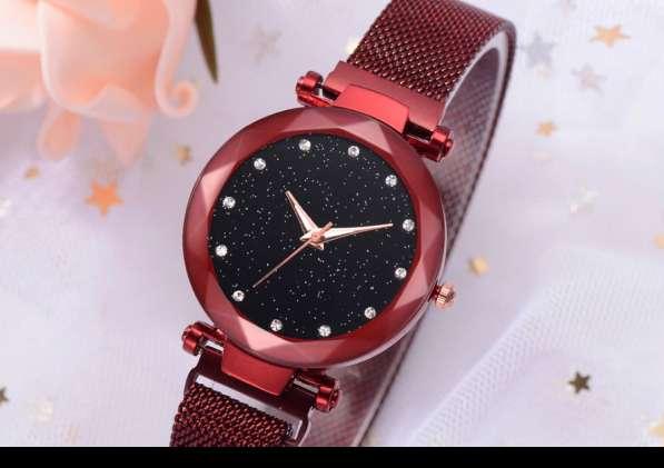 Часы женские Starry Sky Watch c магнитным ремешком водонепр в