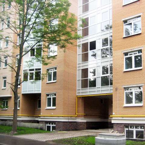 Новая двухкомнатная квартира 81 кв. м в Павловске