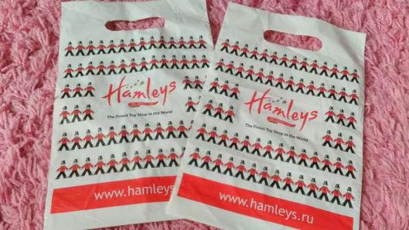 Hamleys маленький пакет при покупки из профиля для детей в Москве