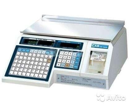 Весы электронные с печатью этикеток CAS LP-15