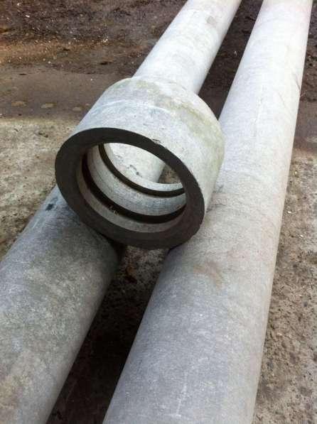 Асбестоцементная труба ВТ-9 Ǿ 150 мм, L= 3.95 м напорная