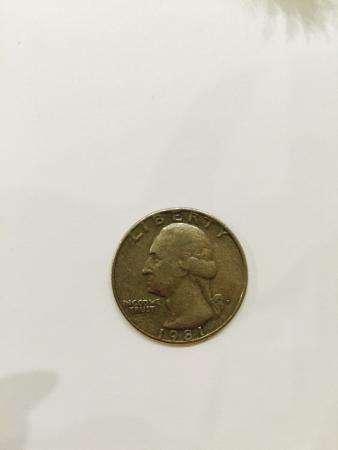 Монеты LIBERTY 1981г