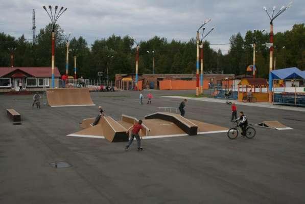 Строительство спортивных, игровых и детских площадок в Екатеринбурге фото 4
