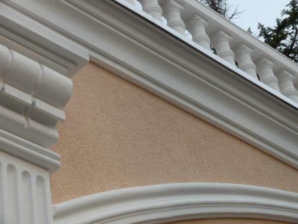 Фасадная лепнина и архитектурный декор
